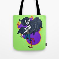 marceline Tote Bags featuring Marceline by Silvering