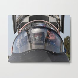 625. Ready for Takeoff Metal Print