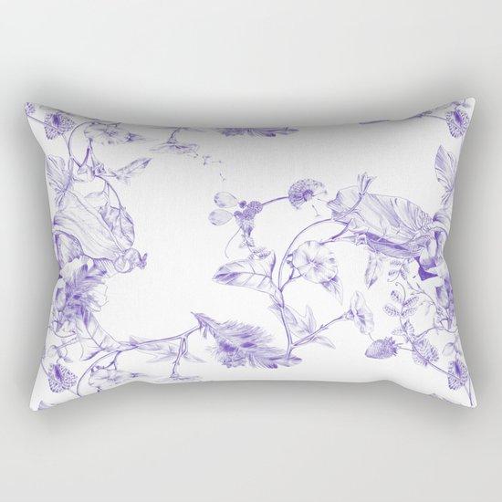 Jeweled Botanist Rectangular Pillow