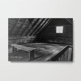 The Room ( Black & White ) Metal Print