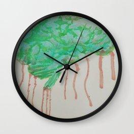 Zombie Brain Wall Clock