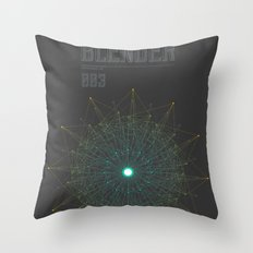 Blender experiment no.3 Throw Pillow