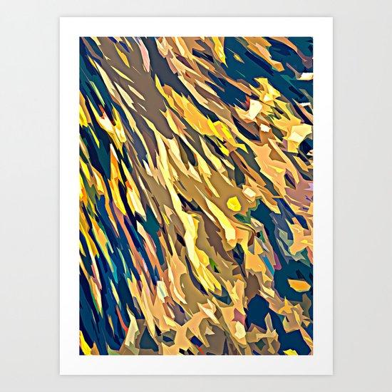 BOLD ABSTRACT Art Print