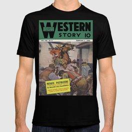 Street & Smith's Western Story - February 1941 T-shirt