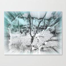 Life sucked away Canvas Print