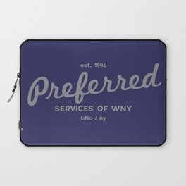 Preferred Services of WNY in Gray Laptop Sleeve