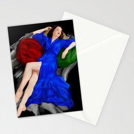 Fading Beauty Stationery Cards