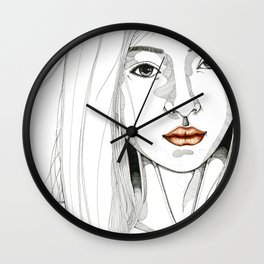 Ignored & immune Wall Clock
