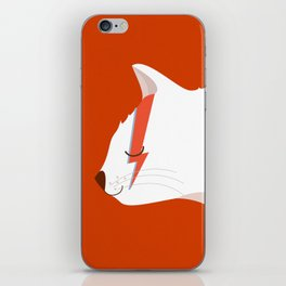David Meowie iPhone Skin