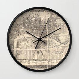 London 1682 Wall Clock
