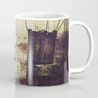 rowing Mugs featuring Rugged fisherman by HappyMelvin