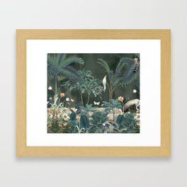 Tropical Jungle III Framed Art Print