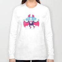 bat Long Sleeve T-shirts featuring Bat by David Fernández Huerta