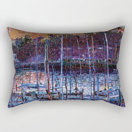 Chapel at Tiburon Rectangular Pillow