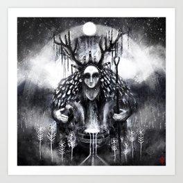 Hælsera - the Oracle Art Print