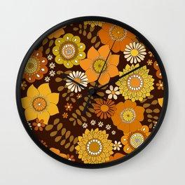 Lover lovber Dk brown Wall Clock