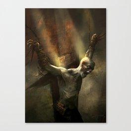 Zombi Hunter Canvas Print