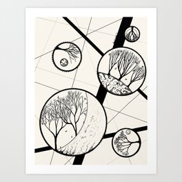 DK-143 (2014) Art Print