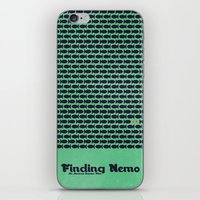 finding nemo iPhone & iPod Skins featuring Finding Nemo by Matt Bacon