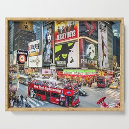 Times Square II Special Edition II Serving Tray