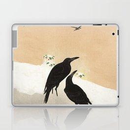Crows from Koson Laptop & iPad Skin