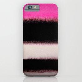pink&black iPhone Case