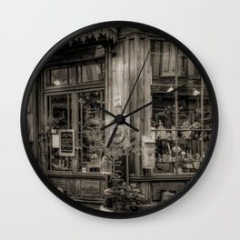 Cafe Laurence Wall Clock