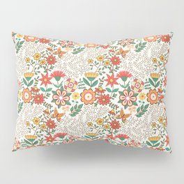 Romance Seamless Pattern Pillow Sham