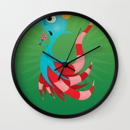 Sal the Sea Horse. Wall Clock