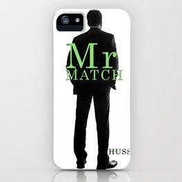 Mr. Match by JA Huss iPhone Case