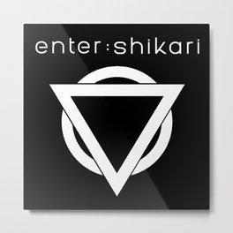 enter shikari logo tour 2021 Metal Print