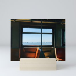 NYC Ocean Subway Mini Art Print