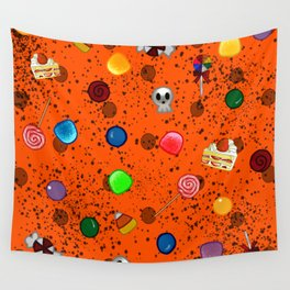 Candy Design Wall Tapestry