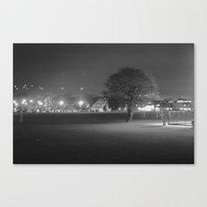 Field at Night Canvas Print