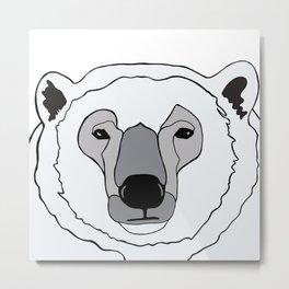 Canadian Polar Bear Metal Print