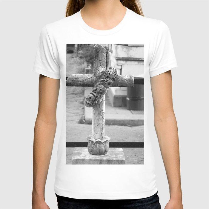 old cross T-shirt