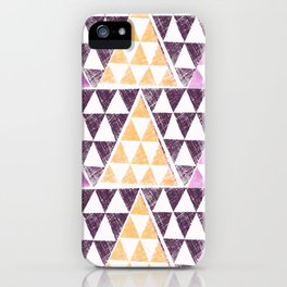 Triangles 2 iPhone Case