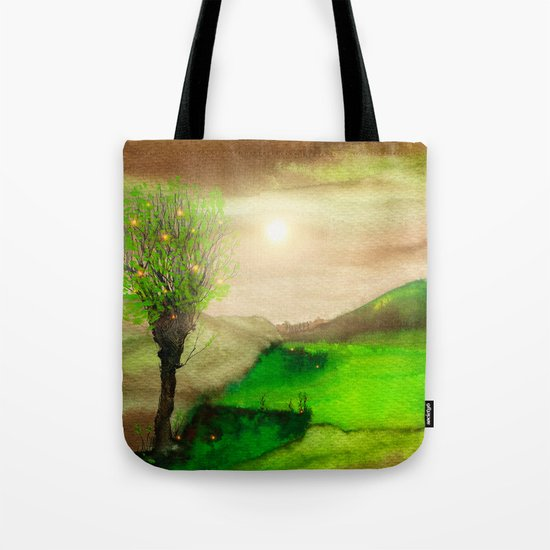 Calling The Sun XII Tote Bag