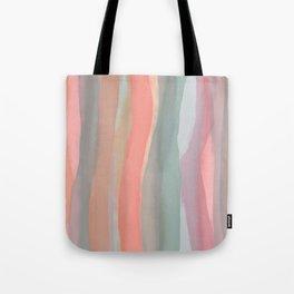 Peachy Watercolor Tote Bag