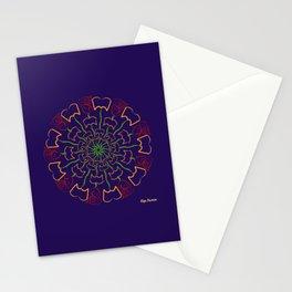 Pétalos y páginas (Petals and pages) Stationery Cards