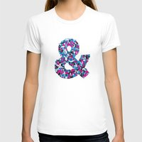 ampersand T-shirts featuring Ampersand by Mister Phil