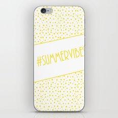 Summer Vibes! iPhone & iPod Skin
