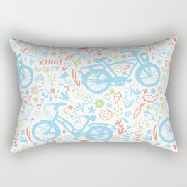 Lovely bikes Rectangular Pillow