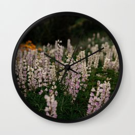 Flower Photography by Patrick Hendry Wall Clock