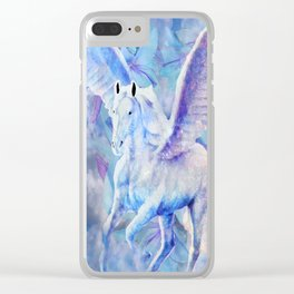DREAM HORSE Clear iPhone Case