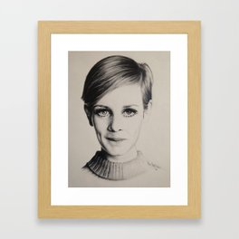 Model Citizen Portrait Framed Art Print