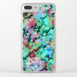 Abstract XXIV Clear iPhone Case
