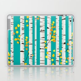 Birch wood Laptop & iPad Skin