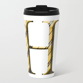 H for Hufflepuff Travel Mug