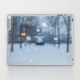 Snow in Hoboken Laptop & iPad Skin